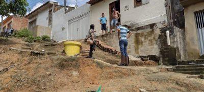 Ação do IMA e SEMA de São Miguel dos Campos contribue para a recuperação de encosta